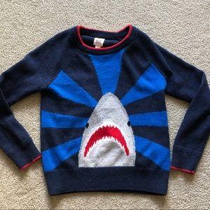 Gap kids shark sweater